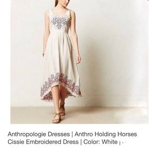 Anthropologie Dresses - SOLID >    anthro  by Holding Horses dress